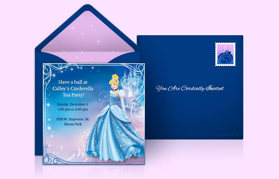 Plan a Cinderella Party!