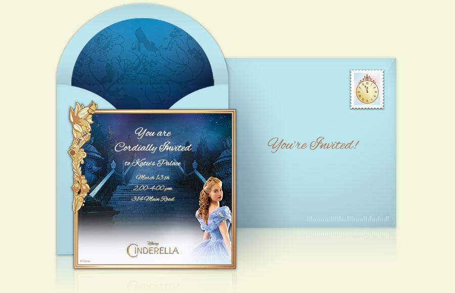 Plan a Cinderella Movie Party!