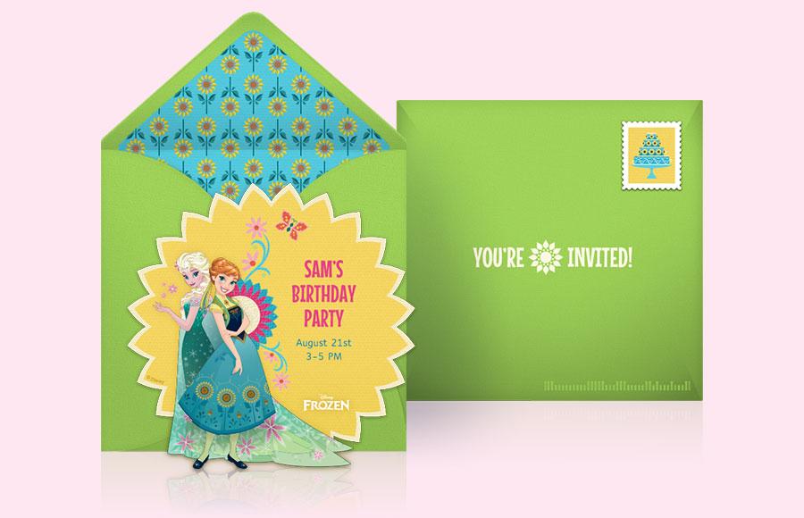Plan a Frozen Fever Party!