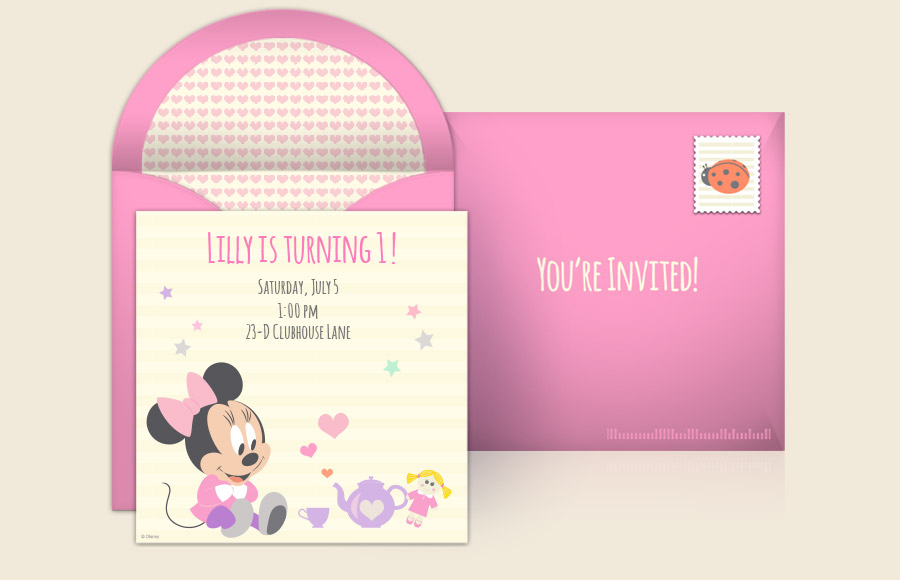 Plan a Minnie Mouse 1st Birthday Party!