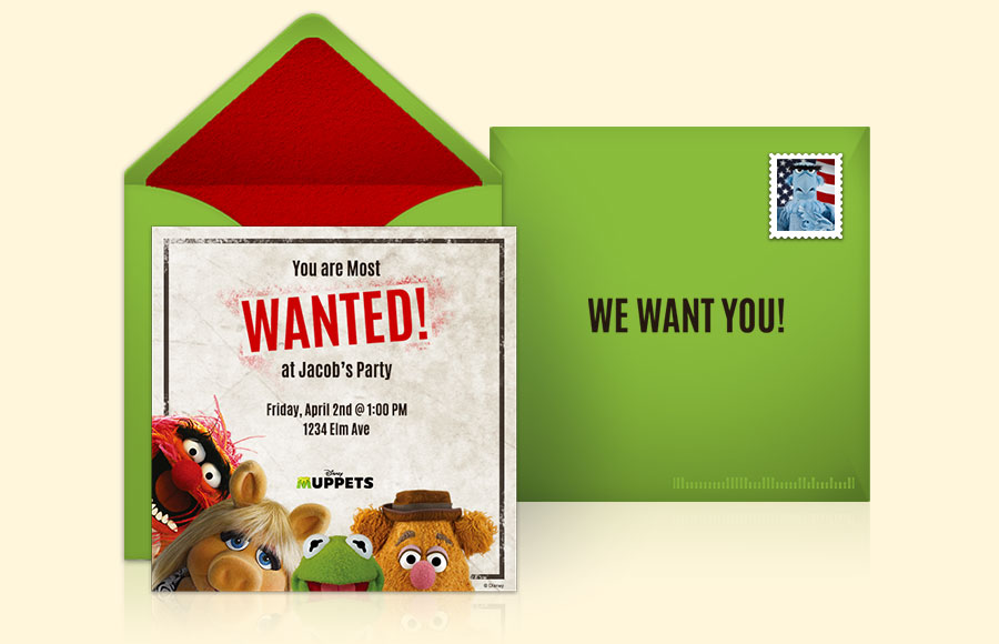 Plan a Muppets Most Wanted Party!