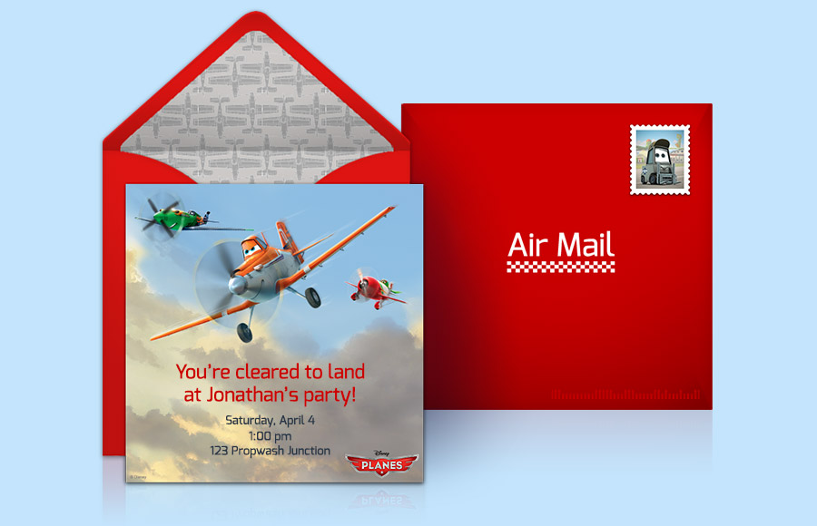Plan a Planes Party!