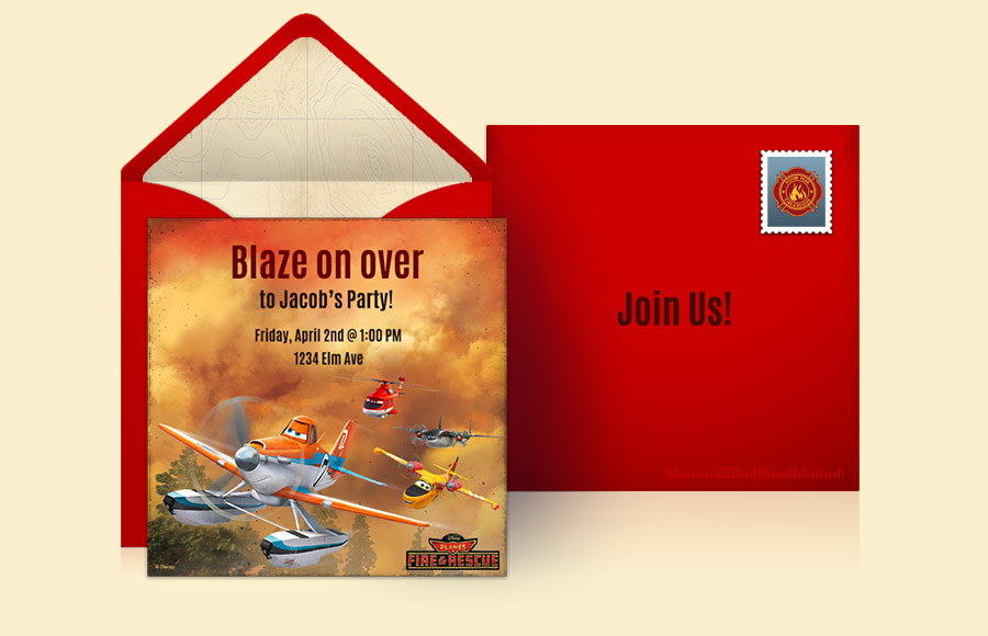 Plan a Planes: Fire & Rescue Party!