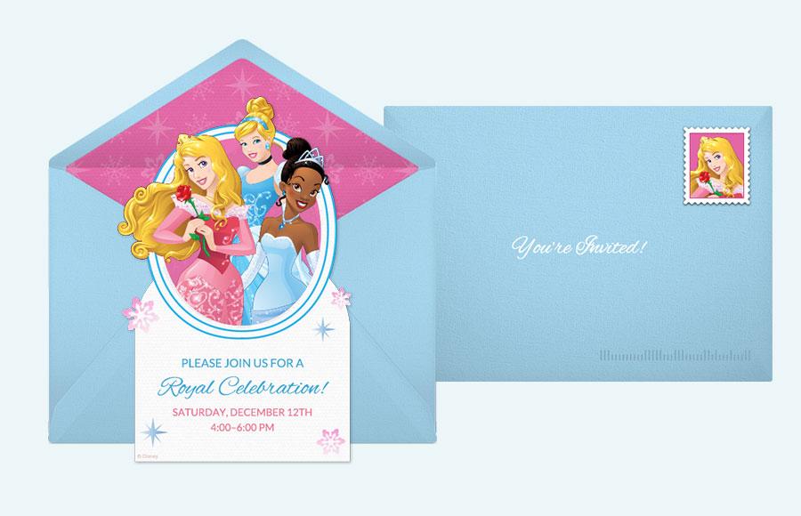 Summary Free Disney Invitations Online Punchbowl Printable Princess Elena Birthday