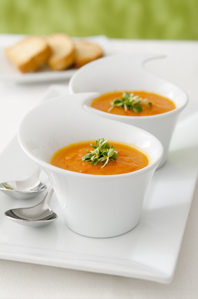 easter carrot soup recipe