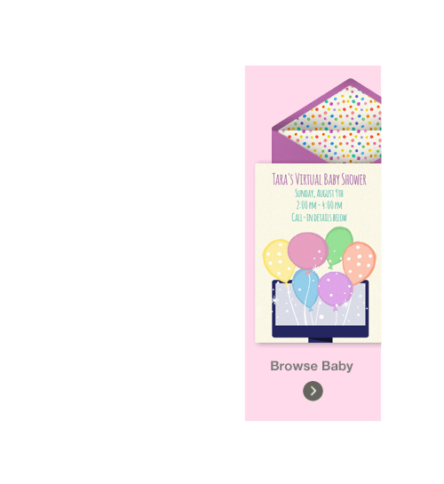 free baby shower online invitations | punchbowl, Baby shower invitations
