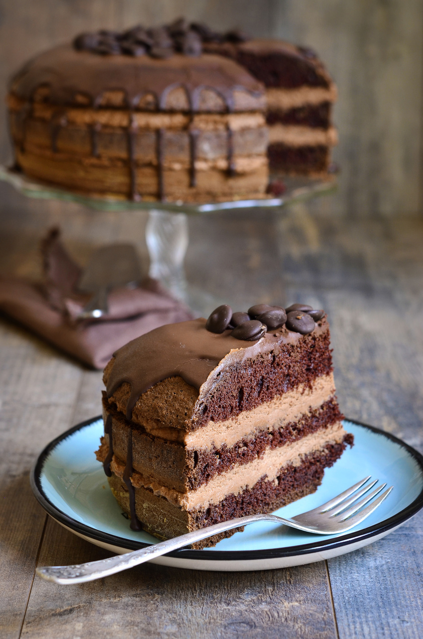 Valentine's Day Desserts - Chocolate Cake