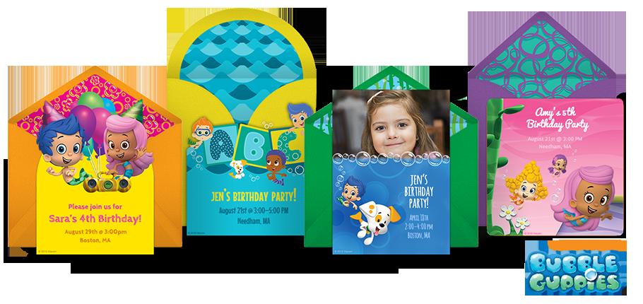 Free Bubble Guppies Invitations Bubble Guppies Online Invitations – Bubble Guppies Party Invites