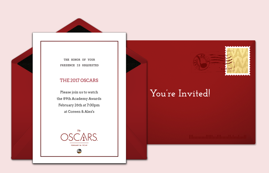 Plan a Oscars Red Carpet Party!