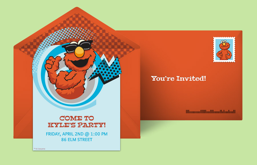 Plan a Elmo Comic Party!