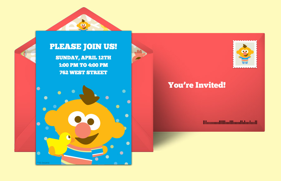 Plan a Baby Ernie Party!