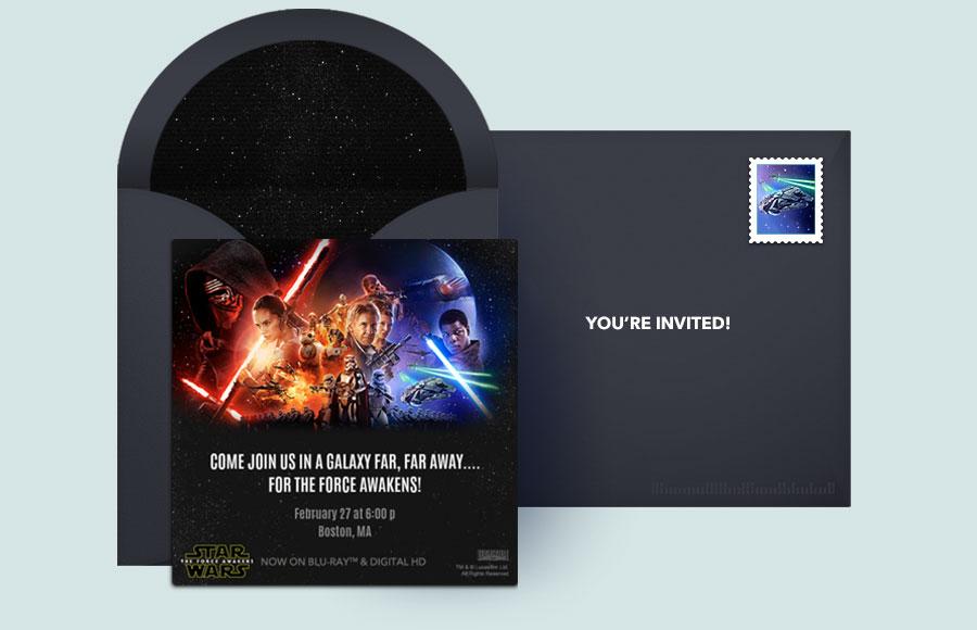 Free Star Wars Invitations Star Wars Online Invitations Punchbowl