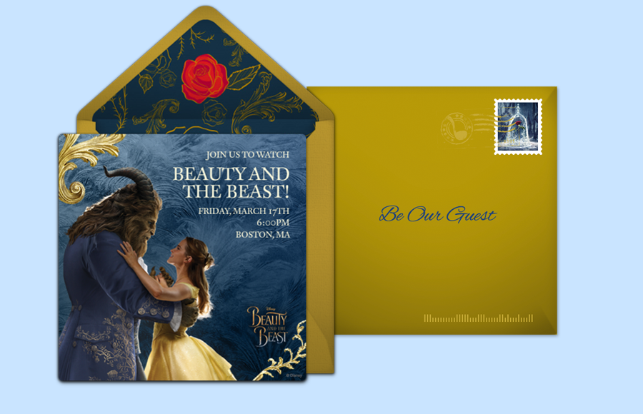 Plan a Beauty and the Beast Party!