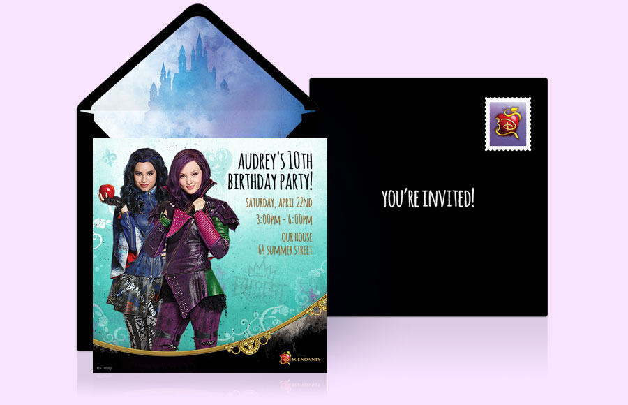 Plan a Descendants Party!