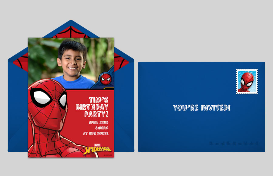 Plan a Spider-Man Photo Party!