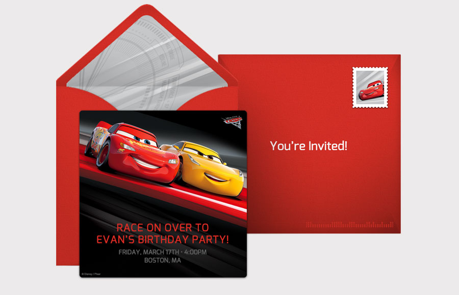 Plan a Cars 3 Party!