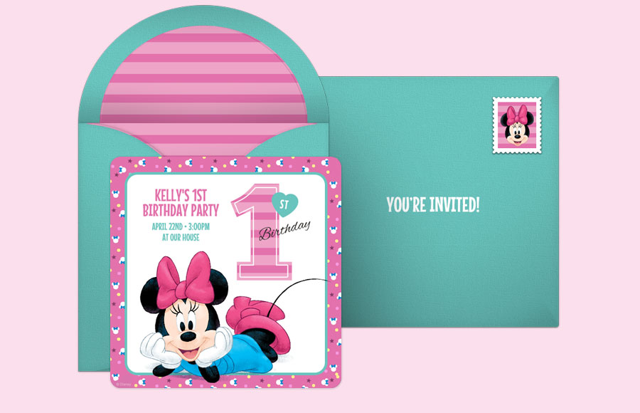 Plan a Minnie Mouse 1st Party!