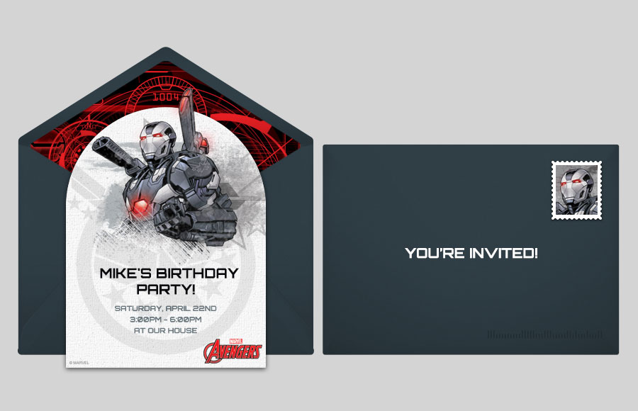 Plan a Avengers War Machine Party!